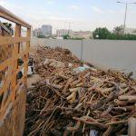 ضبط موقعًا لبيع الحطب المحلي يديره مقيمان في الرياض